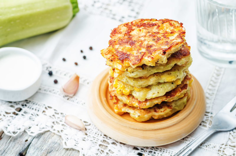 Tuna and Corn Fritters