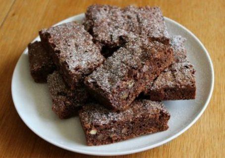 Choc Hazelnut Brownies