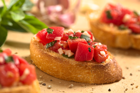 Sun Dried Tomato Bruschetta